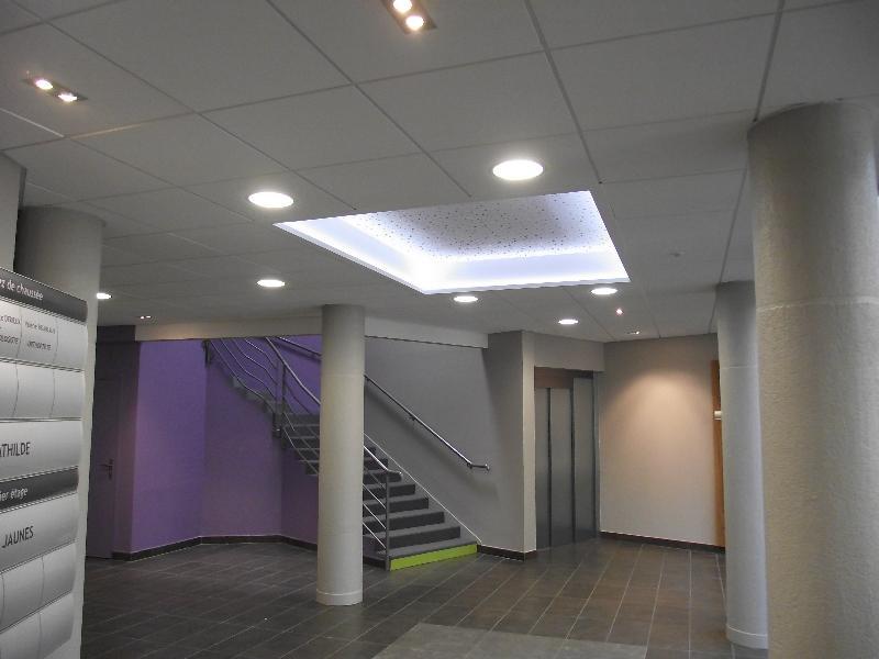Plafond suspendu r alisations caen - Faux plafond suspendu lumineux ...